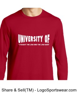 "UNIVERSITY OF ""I fought the Law"" Design Zoom"