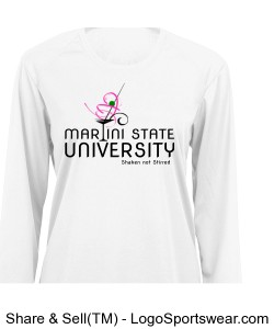 Martini State University T Shirt Design Zoom